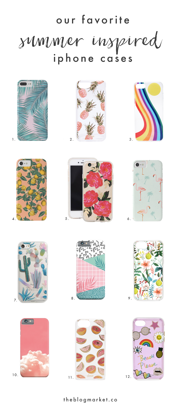 Best Summer Inspired iPhone Cases