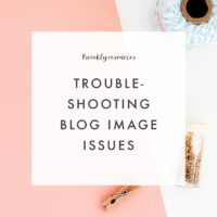 Weekly Resources | Troubleshooting Your Blog Images