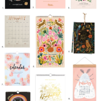 Best 2018 Calendars for your Creative Space