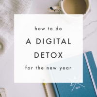 How to do a Digital Detox for New Years