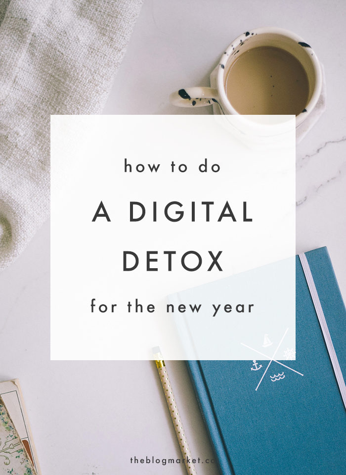 How to do a Digital Detox - The Blog Market