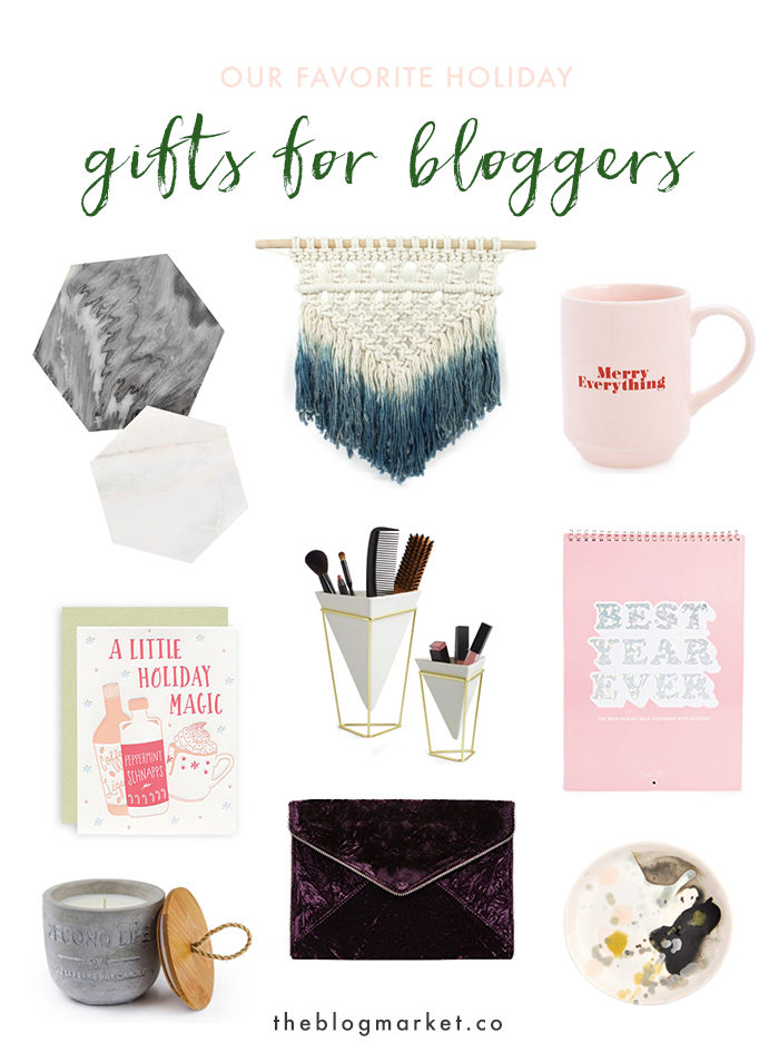 Our Favorite Holiday Gifts for Bloggers - The Blog Market