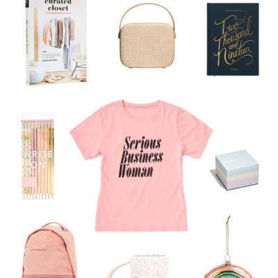 gift guide for the lifestyle blogger via the blog market