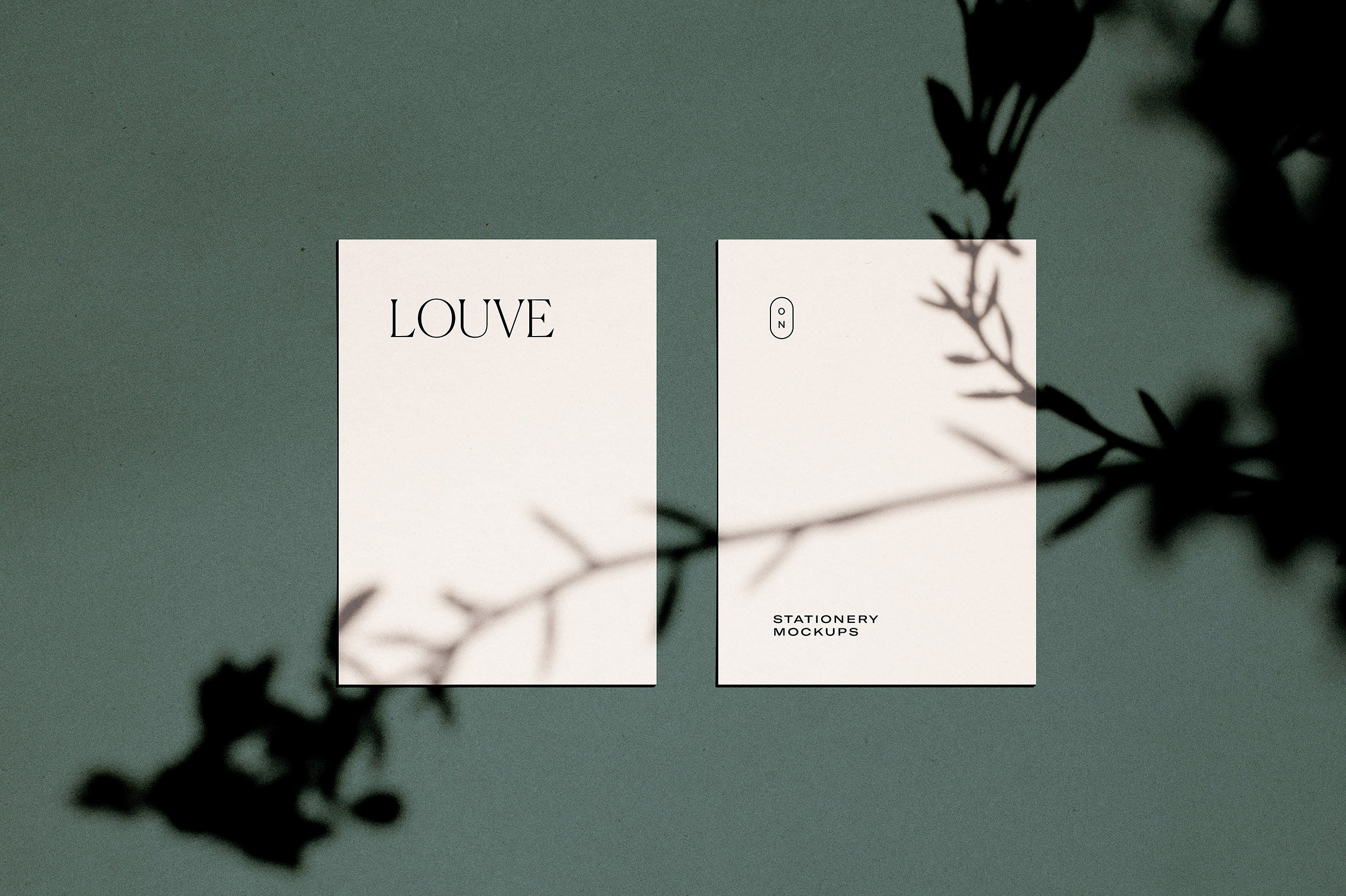 Louve – (Mockup Kit) Scene Creator by October November