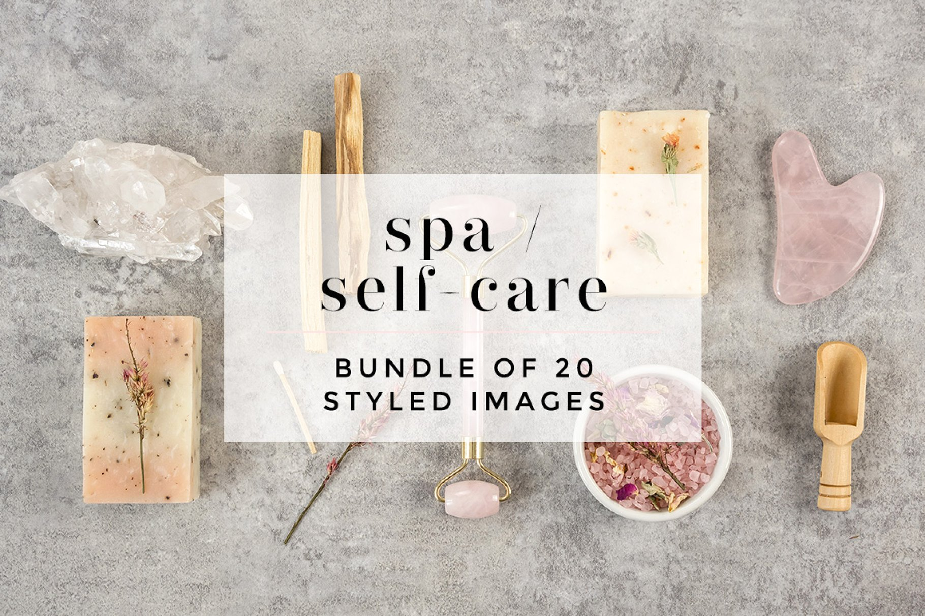 Self-care / Spa Styled Bundle by Styled Stock Society SHOP