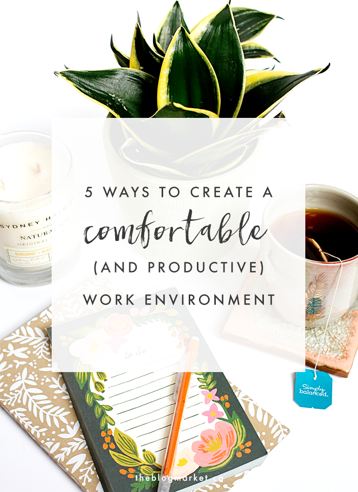How to make a productive work environment
